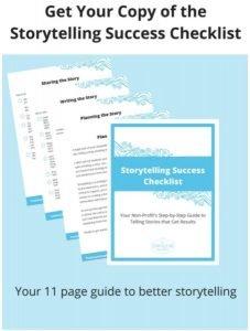 StoryTelling Success Checklist image