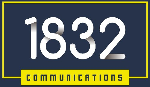1832 Communications Logo