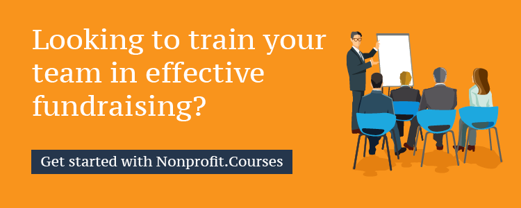 Learn more about major gifts and other fundraising strategies with Nonprofit Courses.