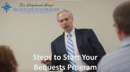 How to start a bequest program by Dan Shephard cover