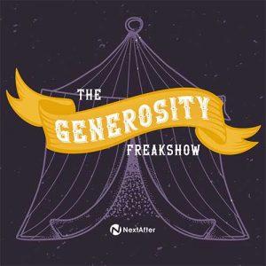 Generosity Freakshow Podcast Cover
