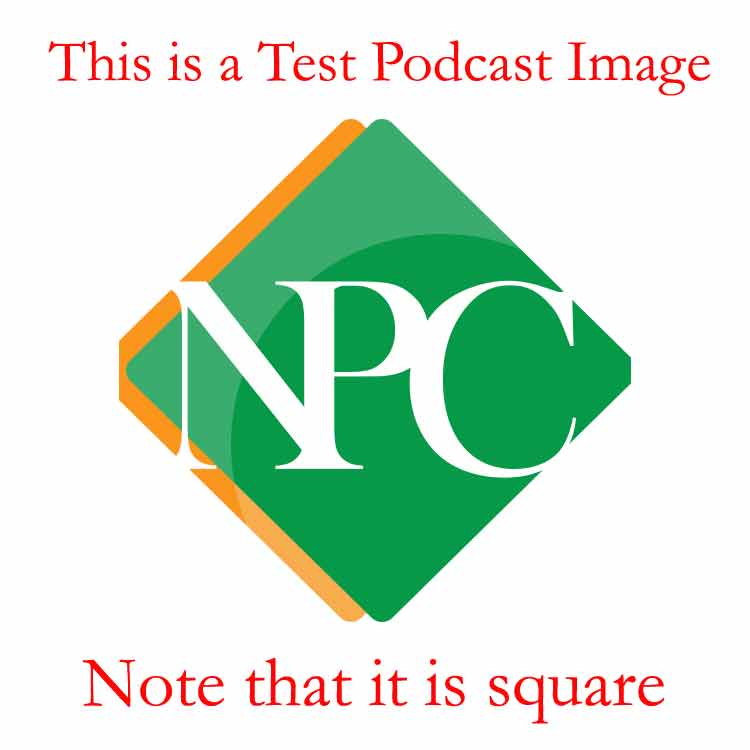 NpC Test Podcast page